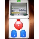 Zásuvkový rozvaděč ZR03 v krytí IP54